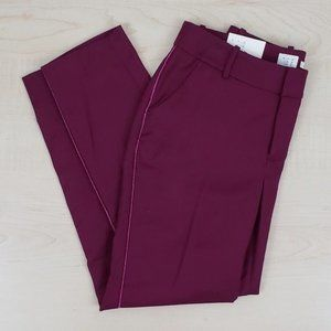 a new day maroon career pants